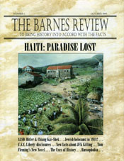 The Barnes Review, October 1994: Haiti—Paradise Lost