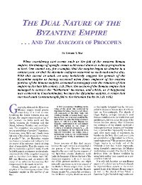 The Dual Nature of the Byzantine Empire