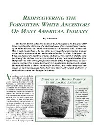 Rediscovering the Forgotten White Ancestors of Many American Indians