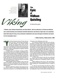 The Slaying of a Viking: The Epic of Vidkun Quisling