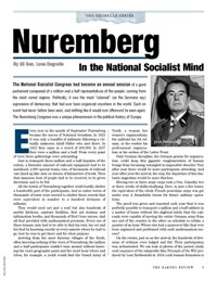 Nuremberg in the National Socialist Mind