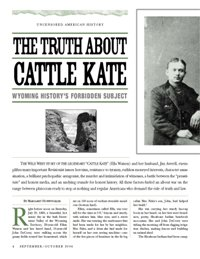 The Truth About Cattle Kate—An American Lynching