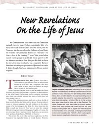 New Revelations on the Life of Jesus