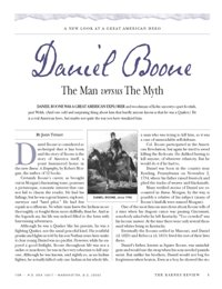Daniel Boone: The Man versus The Myth