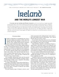 Ireland And The World's Longest War