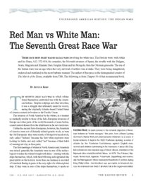 Red Man vs. White Man: The Seventh Great Race War
