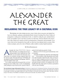 Alexander The Great—Reclaiming the True Legacy of a Cultural Icon, by Peter Papaherakles