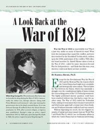 A Look Back at the War of 1812, by Harrell Rhome, Ph.D.